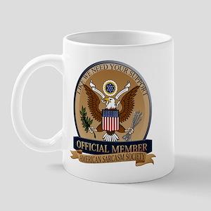 American Sarcasm Society Mug