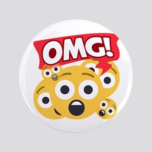 Emoji Shocked OMG Button