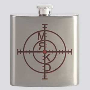 Mrkd_logo Blk Red Flask