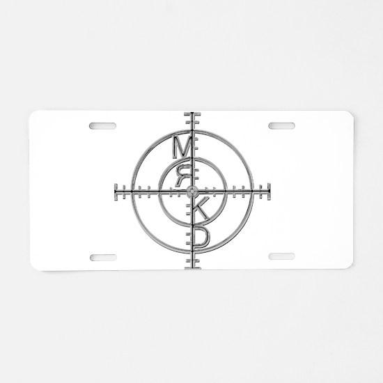 MRKD_Chrome Aluminum License Plate