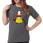 Evil Candy Corn Womens Comfort Colors Shirt