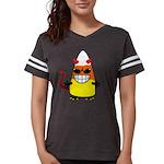 Evil Candy Corn Womens Football Shirt