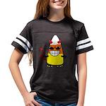 Evil Candy Corn Youth Football Shirt