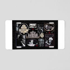Phantom Phantasia Collage Aluminum License Plate