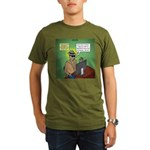 Invisible Man and Catfishing Organic Men's T-Shirt