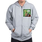 Invisible Man and Catfishing Zip Hoodie