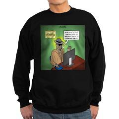 Invisible Man and Catfishing Sweatshirt (dark)