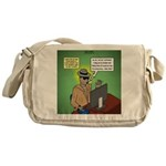 Invisible Man and Catfishing Messenger Bag