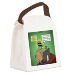 Invisible Man and Catfishing Canvas Lunch Bag