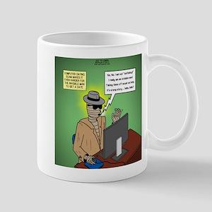 Invisible Man and Catfishing Mug