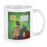Invisible Man and Catfishing Mug
