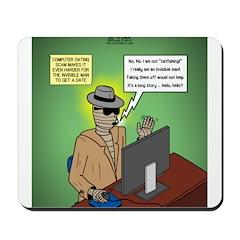 Invisible Man and Catfishing Mousepad