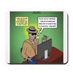 Invisible Man and Catfishing Mousepad