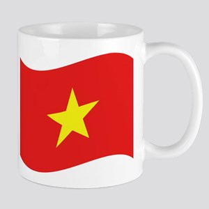 Vietnam Flag Wave Small Mug