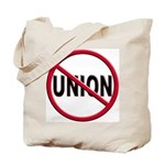 Anti-Union Tote Bag