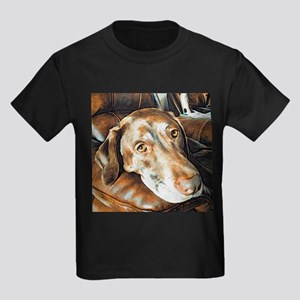 Chocolate Lab, Head on Sofa T-Shirt