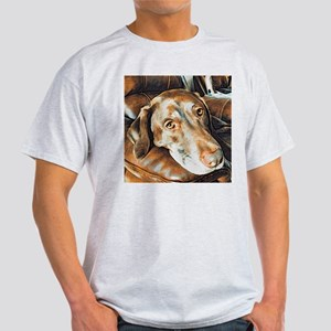Chocolate Lab, Head on Sofa T-Shirt