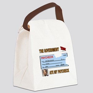 PAYCHECK Canvas Lunch Bag