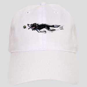 Border Collie Action Baseball Cap