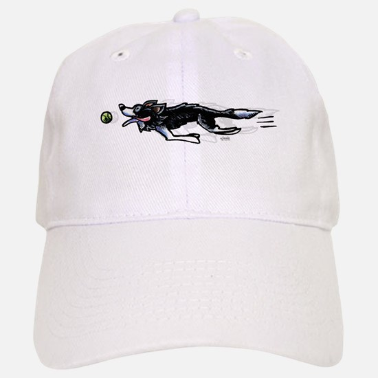 Border Collie Action Baseball Baseball Baseball Cap