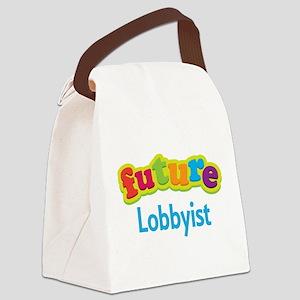 Future Lobbyist Canvas Lunch Bag