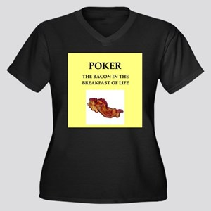 poker Plus Size T-Shirt