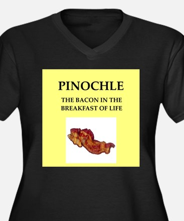 pinochle Plus Size T-Shirt