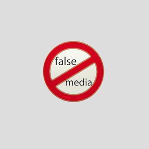 False Media - Don't believe t Mini Button