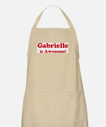 Gabrielle is Awesome BBQ Apron