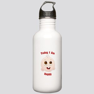 Today I Am Happy Baby Infant Water Bottle