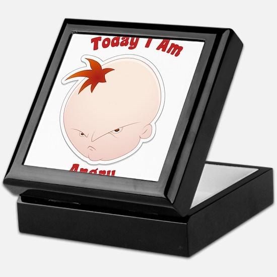 Today I am Angry Baby Infant Keepsake Box