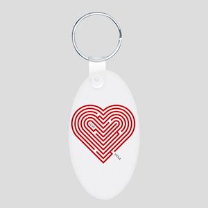 I Love Viola Keychains