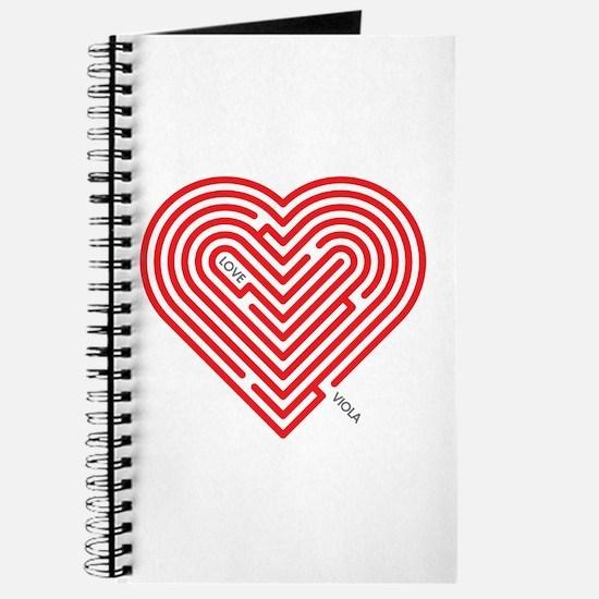I Love Viola Journal