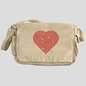 I Love Viola Messenger Bag