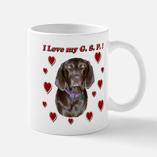 I Love my GSP Mug
