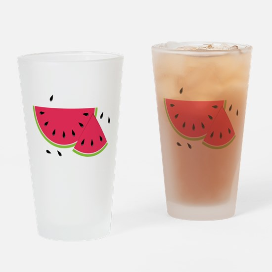 Watermelon Slice Drinking Glass