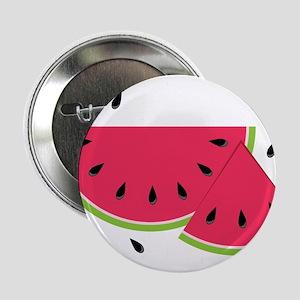 """Watermelon Slice 2.25"""" Button"""