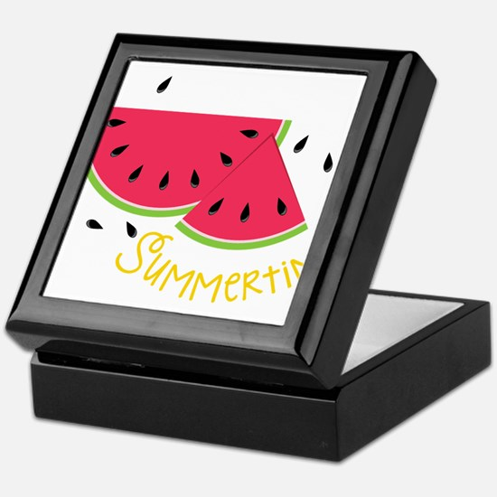 Summertime Keepsake Box