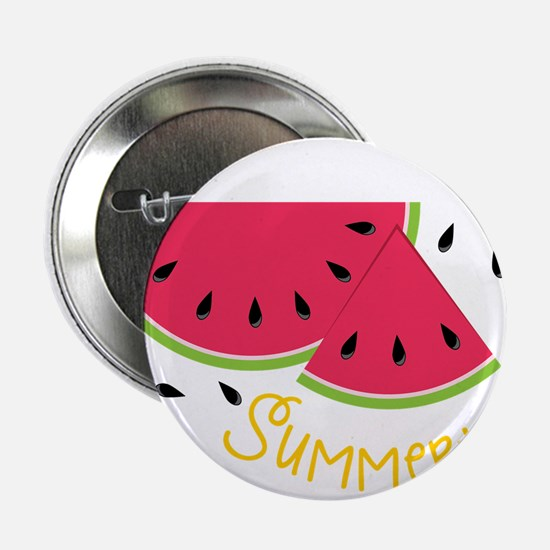 "Summertime 2.25"" Button"