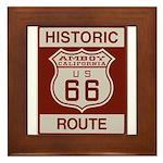 Amboy Route 66 Framed Tile