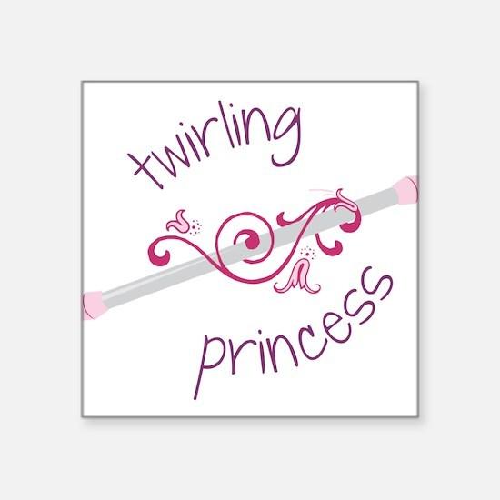 Twirling Princess Sticker