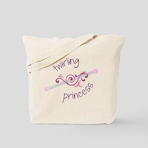 Twirling Princess Tote Bag