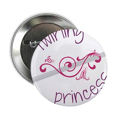 "Twirling Princess 2.25"" Button"