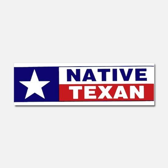 Funny Texas star Car Magnet 10 x 3