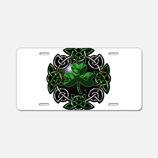 Cute Celtic knot Aluminum License Plate