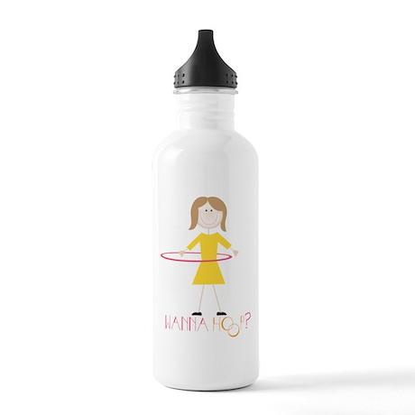 Wanna Hoop? Water Bottle