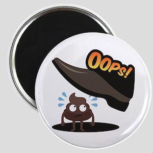 Emoji Poop Oops Magnet