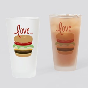 love... Drinking Glass