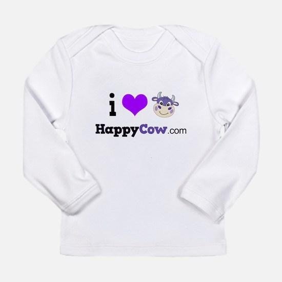 i heart HappyCow Long Sleeve T-Shirt