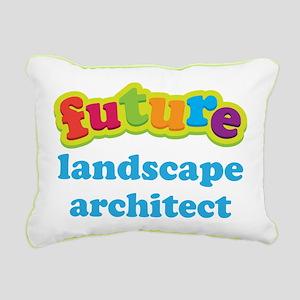 Future Landscape Architect Rectangular Canvas Pill